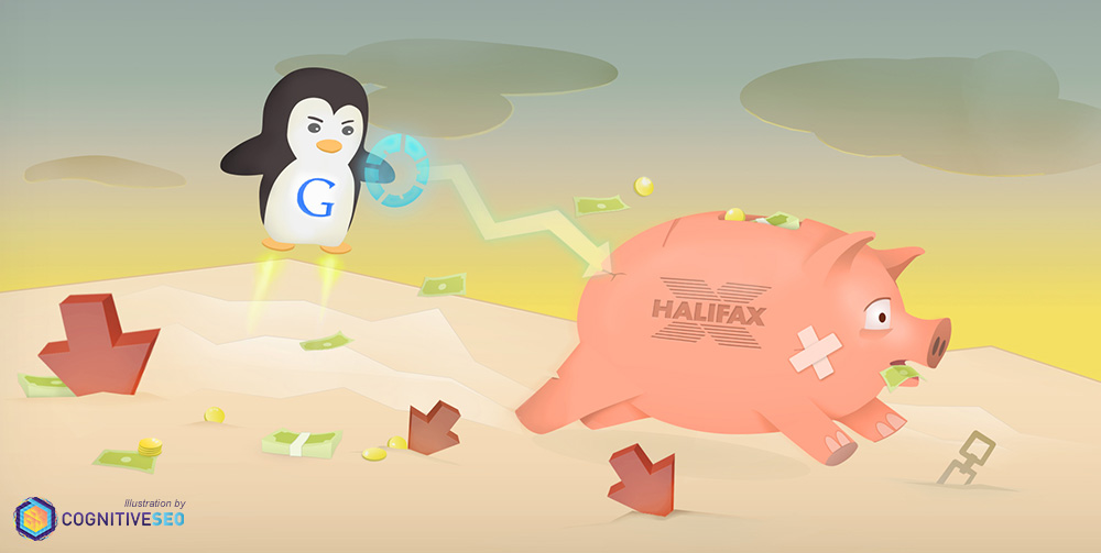 How Google Broke the Bank - The Famous Halifax Penalty