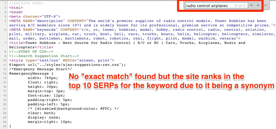 941 traffic increase exploiting the synonyms seo ranking technique exact match keyword ranking synonym solutioingenieria Choice Image