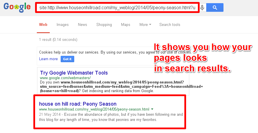 See How Your Page Looks in Google's Search Results