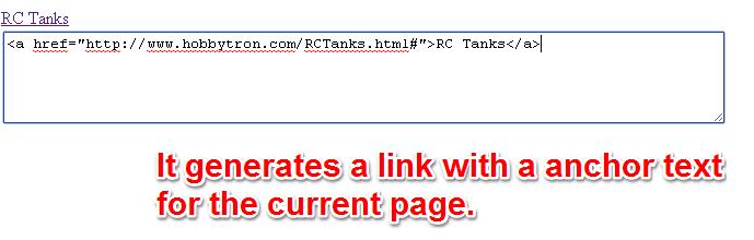 Generate Link