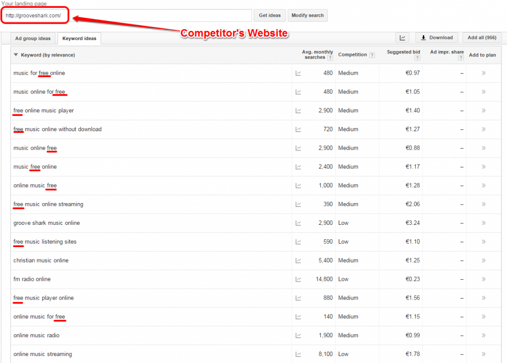 Grooveshark Competitor