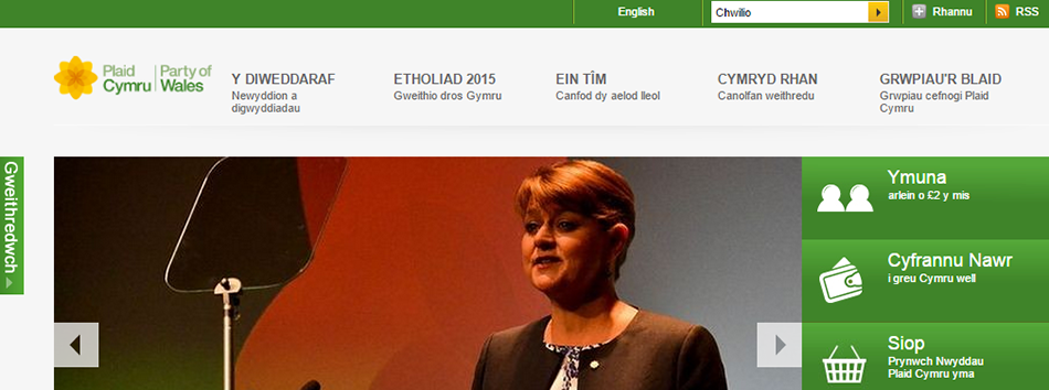 Plaid Cymru – Party of Wales