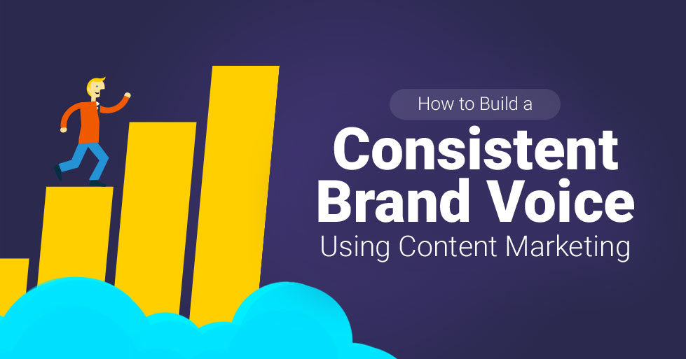 How to build a consistent brand voice using content marketing for Marketing to builders