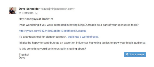18 outreach examples that will massively boost your sharing how to write a perfect cold outreach email example pronofoot35fo Images