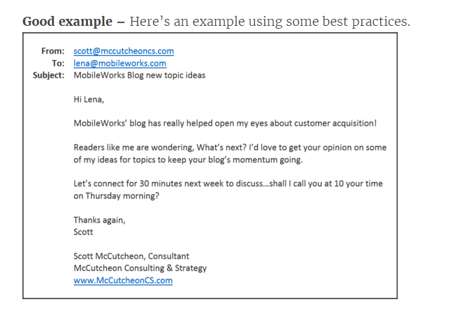 Good Morning All In An Email : Powerful tips on how to write cold emails that will