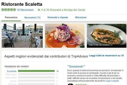 Fake reviews Scaletta