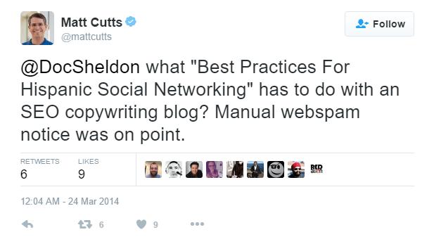 Matt Cutts about Spam Guest Post