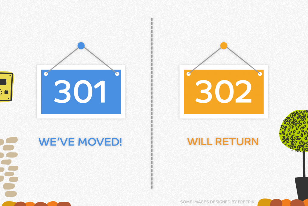 How 301 and 302 redirects work