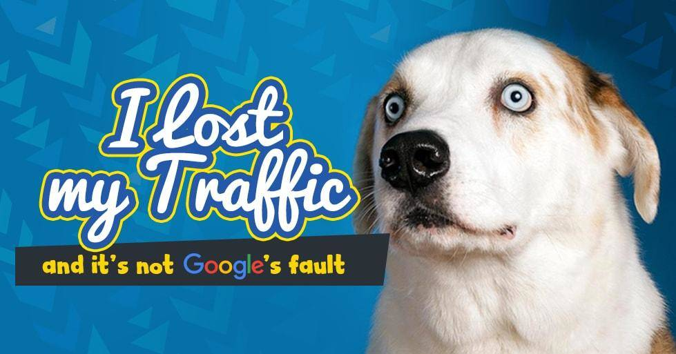16 Causes Why Your Organic Traffic has Dropped ... It's Not Google's Fault!