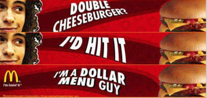 McDonalds 2005 campaign
