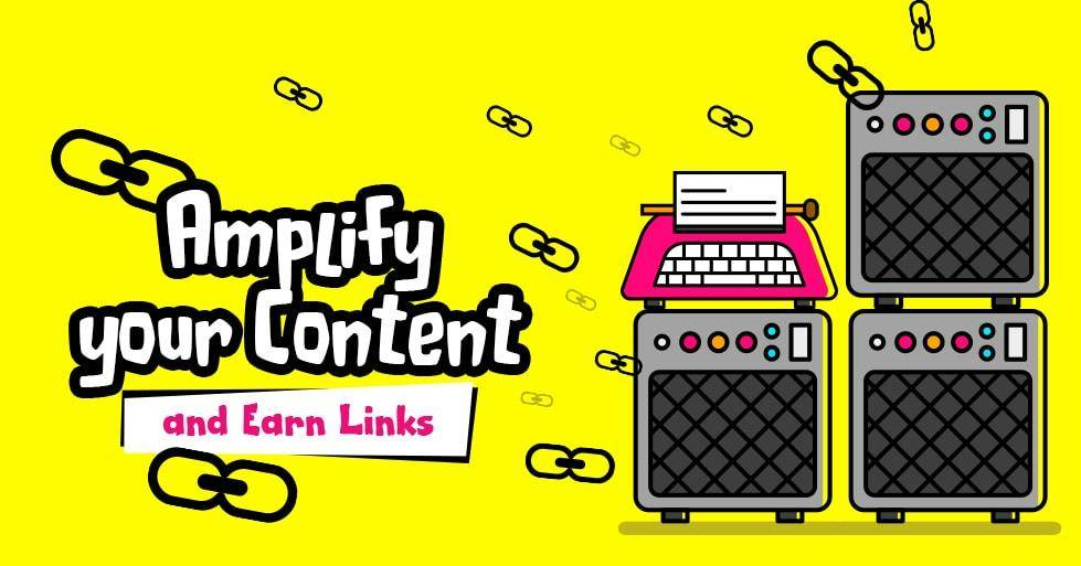 Content Amplification to Win Links cognitiveSEO
