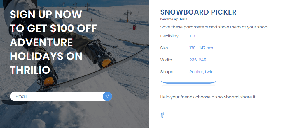 Snowboard picker