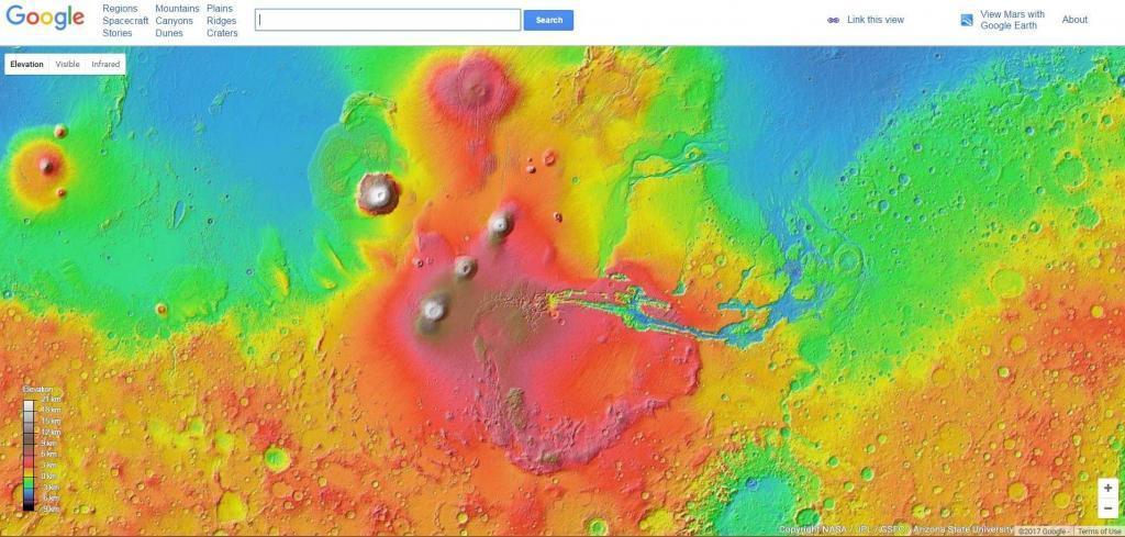Google Mars easter egg