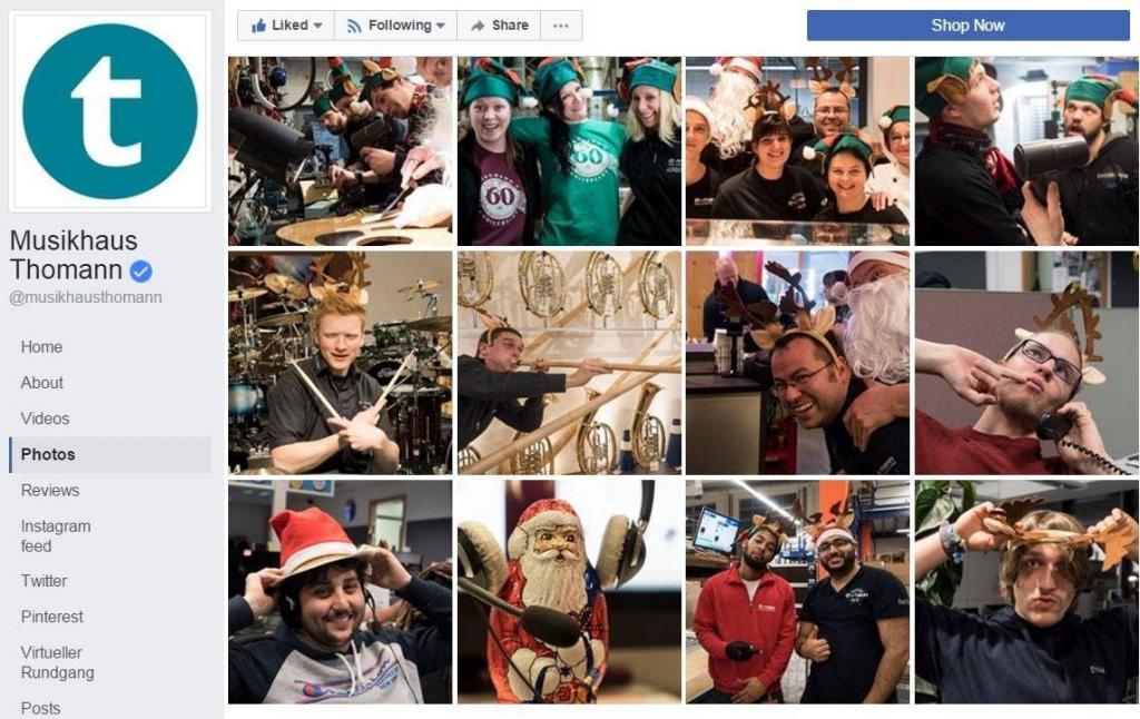 Thomann Facebook Employees