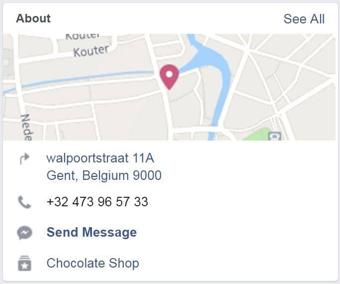 Facebook SEO Address