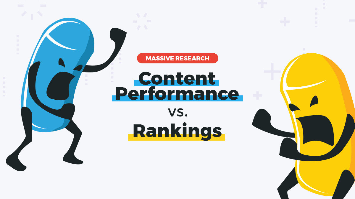 Does Content Performance Impact SEO Rankings? – An In-depth Research On 3,7 Million Pages
