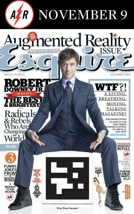 Esquire magazine | AR experience