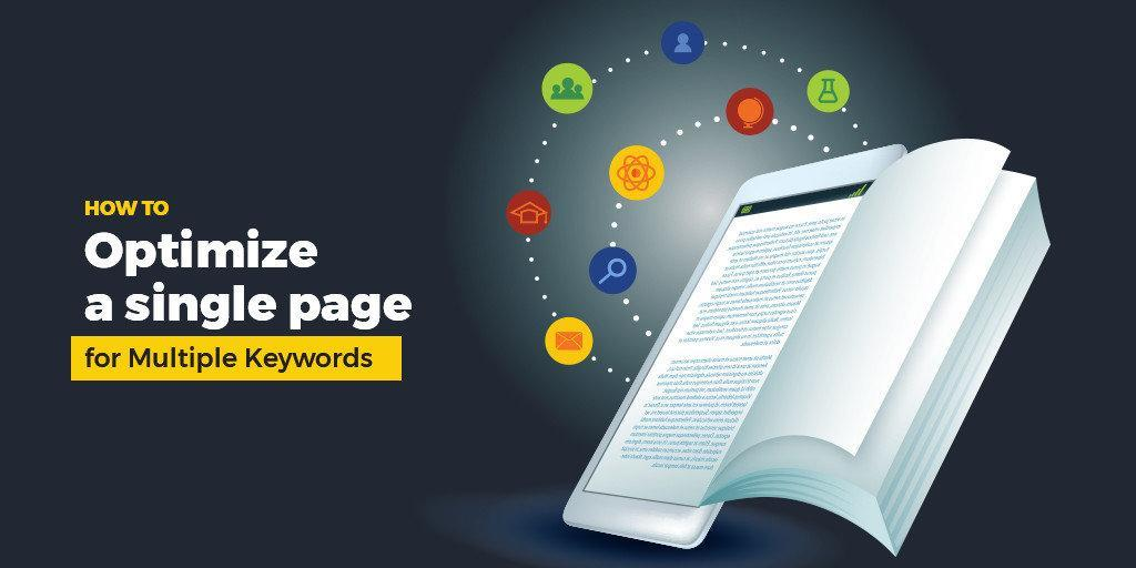 How to optimize a single page for multiple keywords