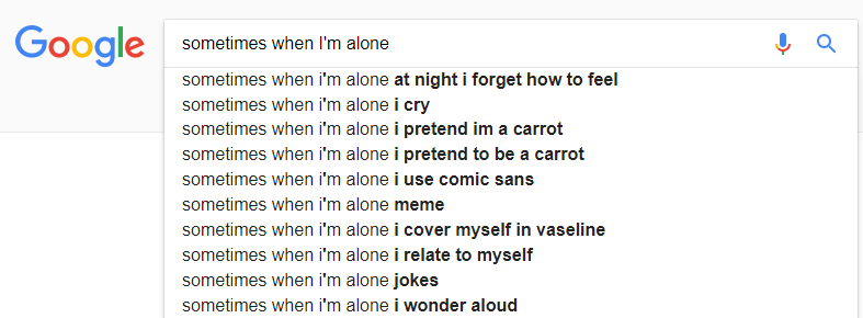 funny google searches autocomplete