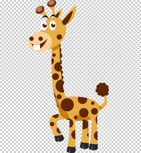 Giraffe PNG example
