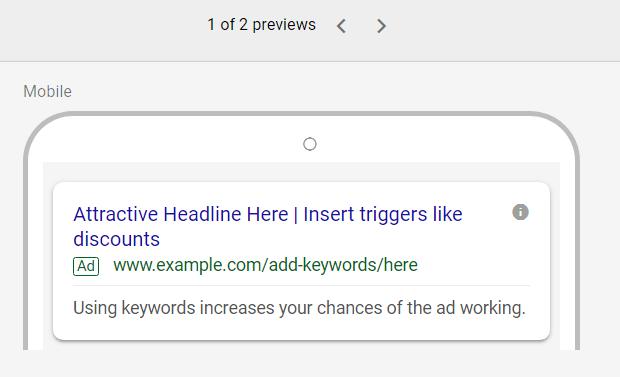 adwords local ad creation