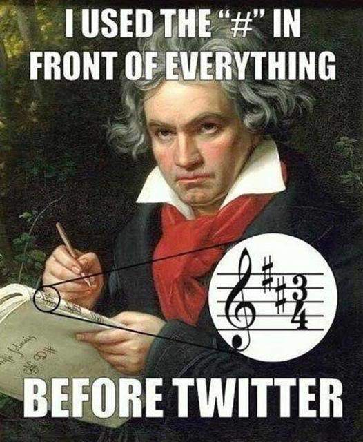hipster-beethoven-using-hashtags-before-twitter