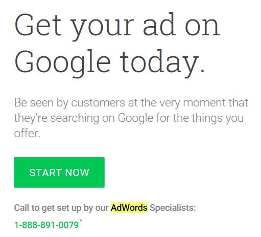 start adwords