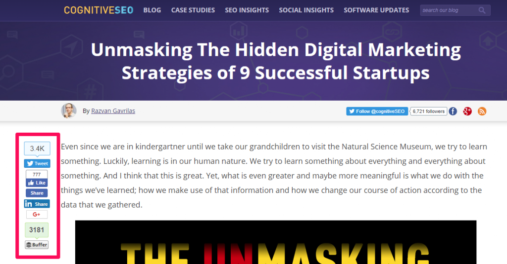 unmasking startup strategies