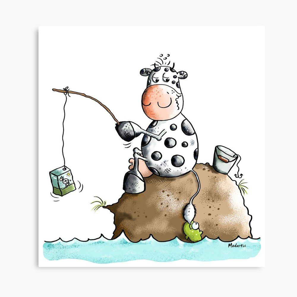 cow fishing