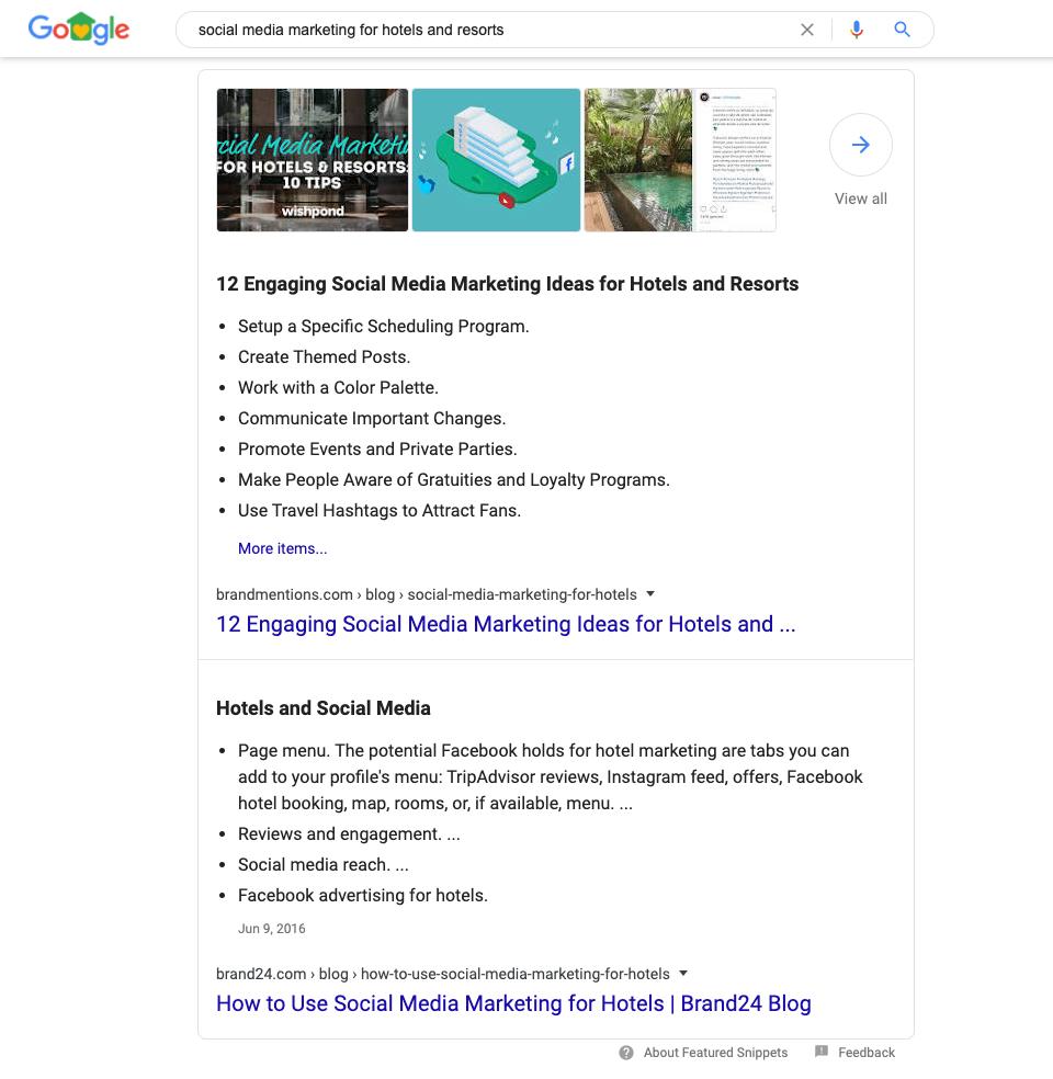 Mise à jour de Google Answer Box