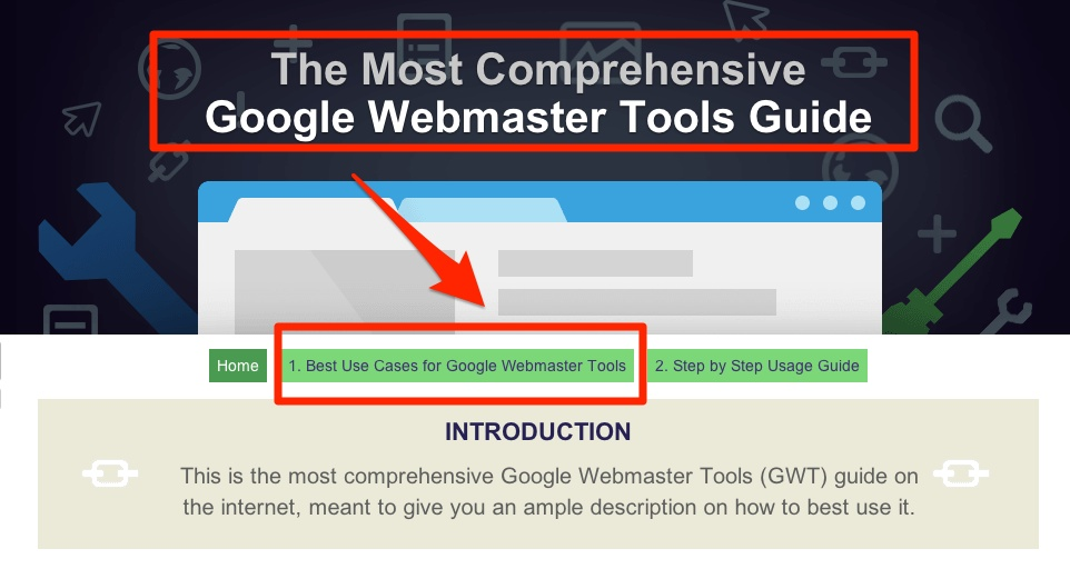 The Google Webmaster Tools (GWT) Guide by cognitiveSEO