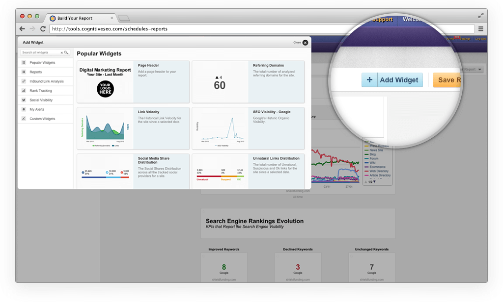 Amaze Clients with Fully Customizable Reports